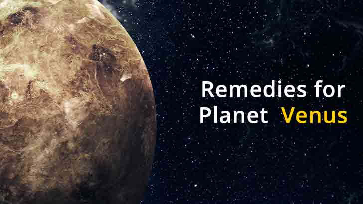 venus effects and remedies